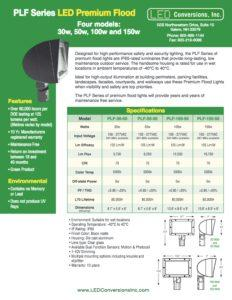PLF Series LED Premium Flood