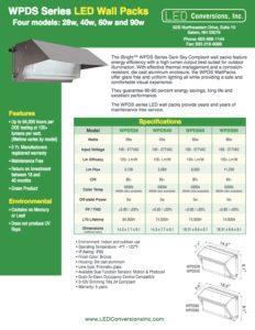 WPDS Series LED Wall Packs