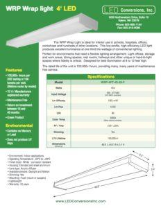 WRP Wrap light 4′ LED